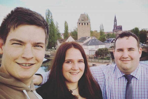Na obisku v Strasbourgu